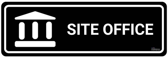 Safety sign - Site office