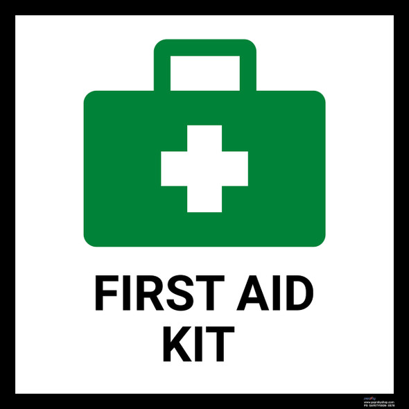 Safety sign - First aid kit 2
