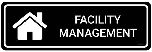 Safety sign - Facility Management