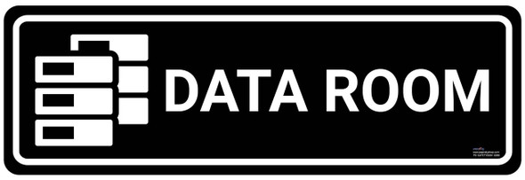 Safety sign - Data room