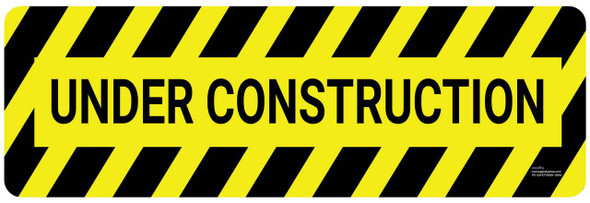 Safety sign - Under Construction 2