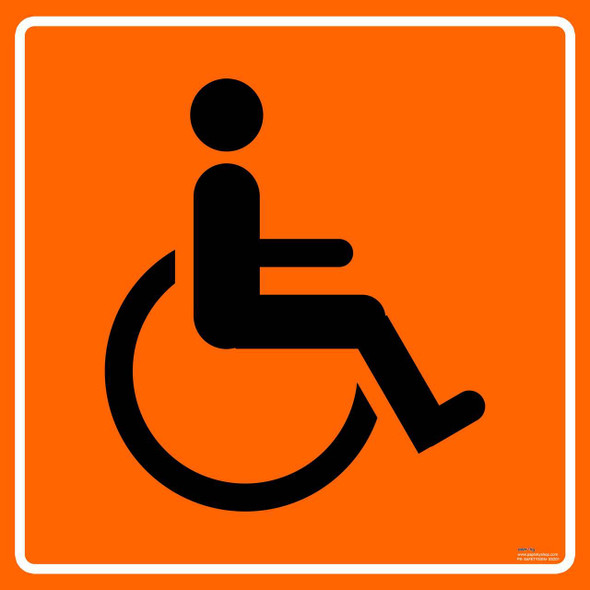 Safety sign - Accessible toilet 2