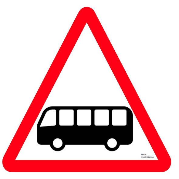 Safety sign - Bus zone