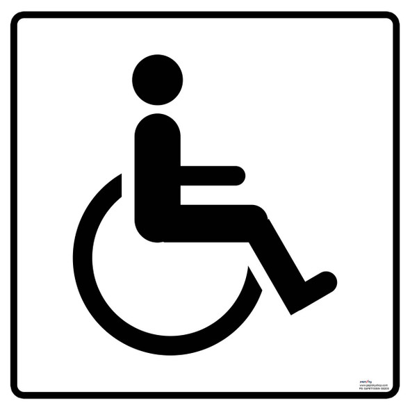 Safety sign - Accessible toilet