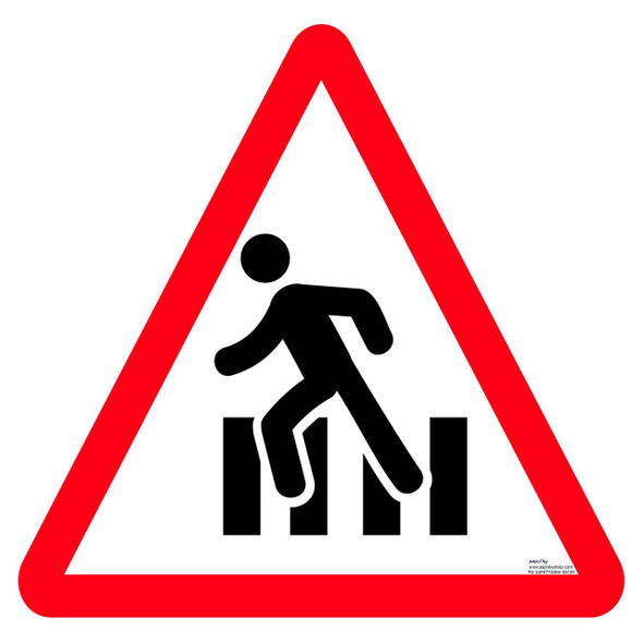 Safety sign - Pedestrian crossing