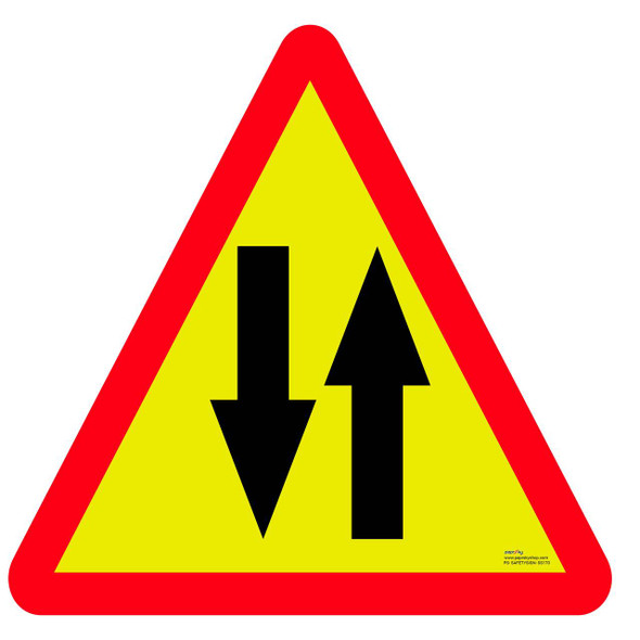 Safety sign - Two way 2