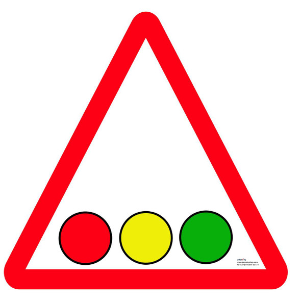 Safety sign - Traffic signal 2