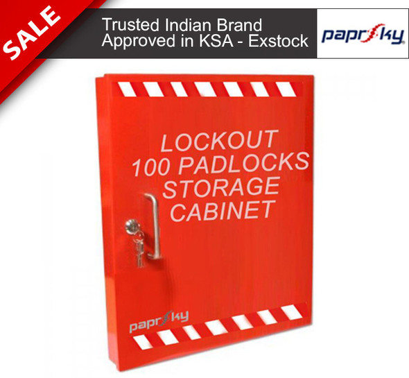 Lockout Boxes & Key Cabinets PS-LOTO-PC100 صناديق مفاتيح السلامة