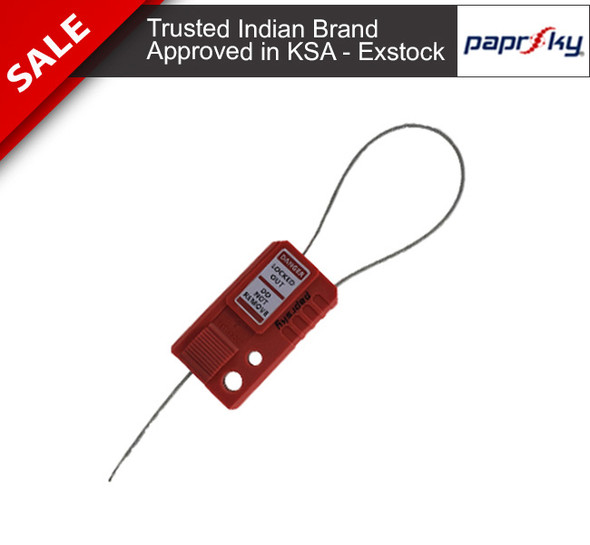 Cable Lockout MINI looped PS-LOTO-MINIMCL قفل الأسلاك