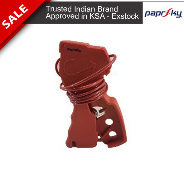 Special nylon molded Cable lockout device PS-LOTO-MUCL قفل الأسلاك