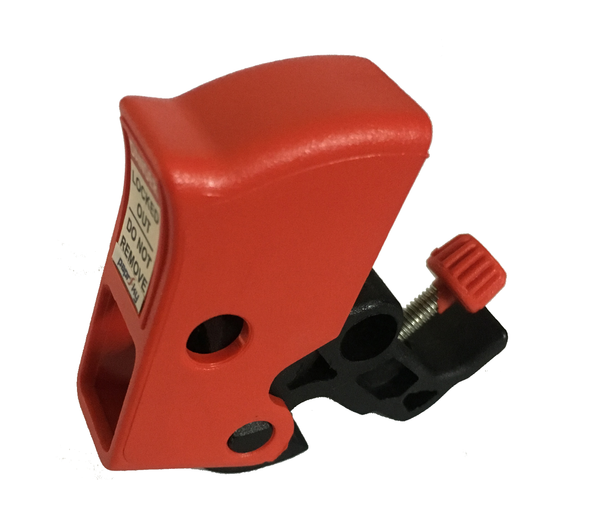 Tool Free Circuit Breaker Lockout with Twister Screw PS-LOTO-MINICBL7