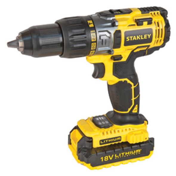 18V 2.0 AH HAMMER DRILL / 2A CHARGER