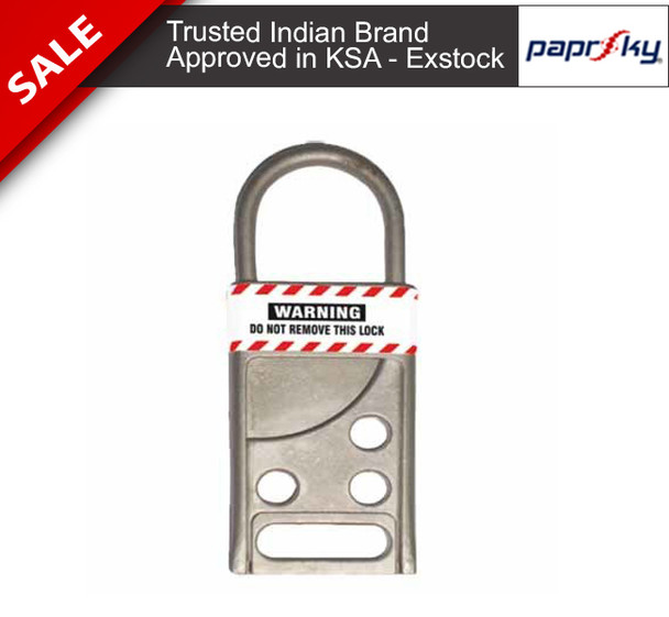Stainless Steel Hasp - 5mm Shackle تأمين القفل