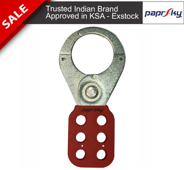 Stainless Steel Vinyl Coated Hasp - 38mm |PS-LOTO-HASP-CP تأمين القفل