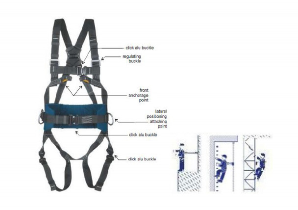 SAFETY HARNESS NON FLAMMABLE
