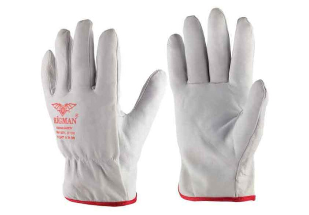 WORKING LEATHER GLOVES - RM-DG
