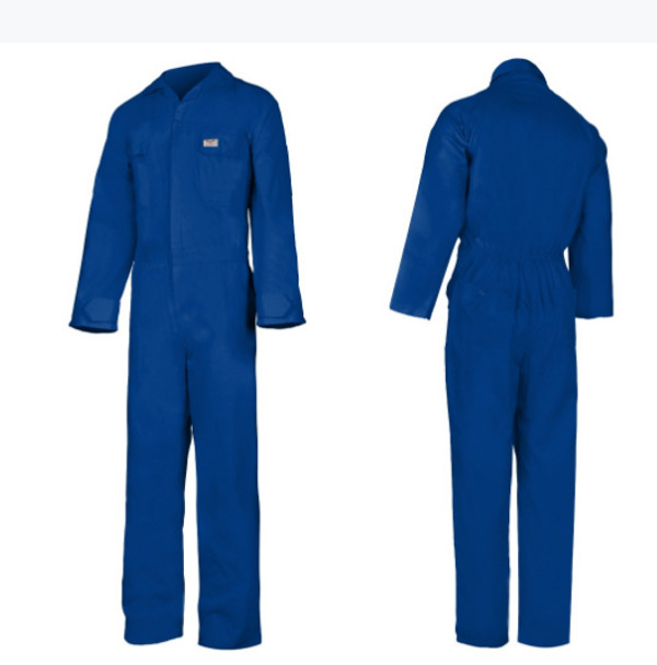 COVERALL PREMIUM POLY COTTON Navy Blue