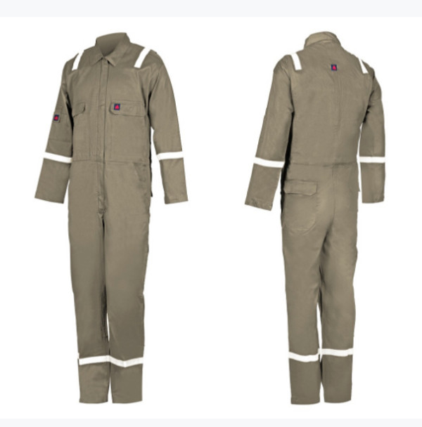 Fire Retardant COVERALL - R9025  Khaki