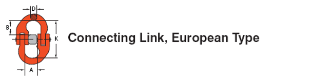 Connecting Link European Type