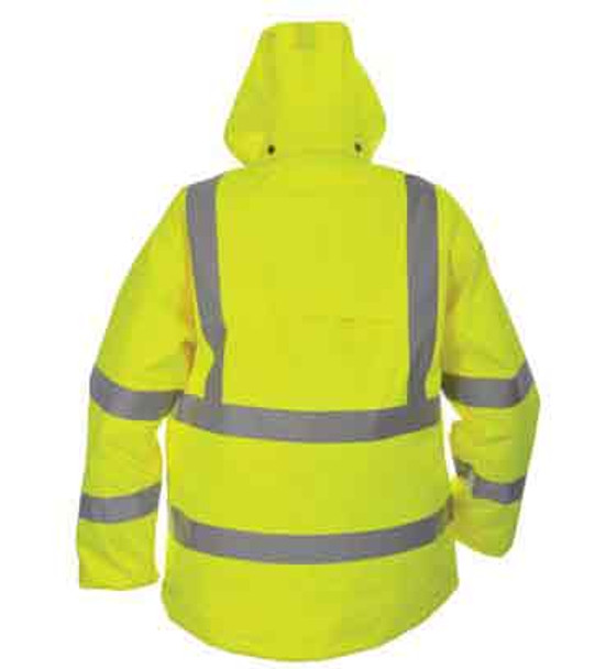 All Yellow Winter Jackets