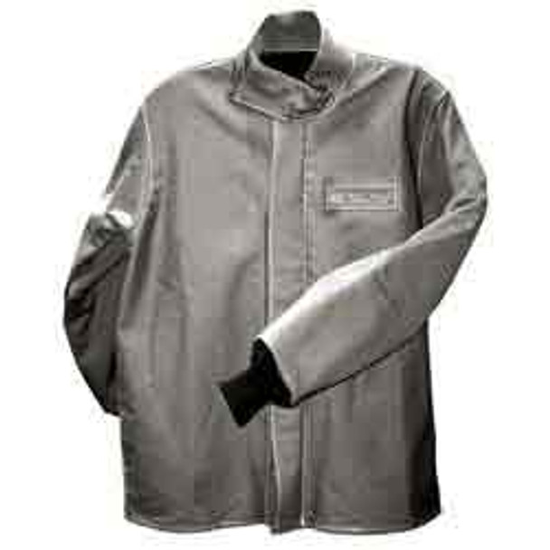 Salisbury Grey Cot FR Arc Flash Coat 40CL M/L/XL
