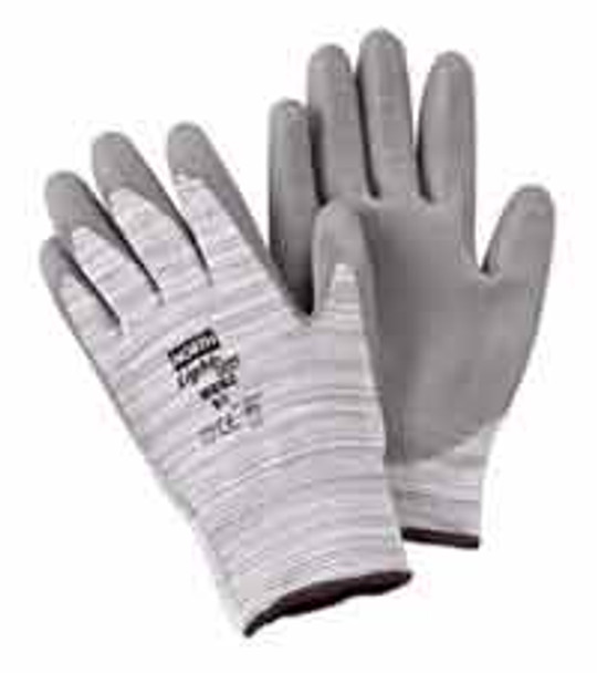 Honeywell White Polyurethane Palm Coating Knit Wrist