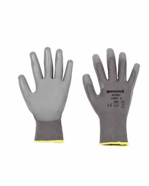 Honeywell Perfect Fit Glove PU First Grey