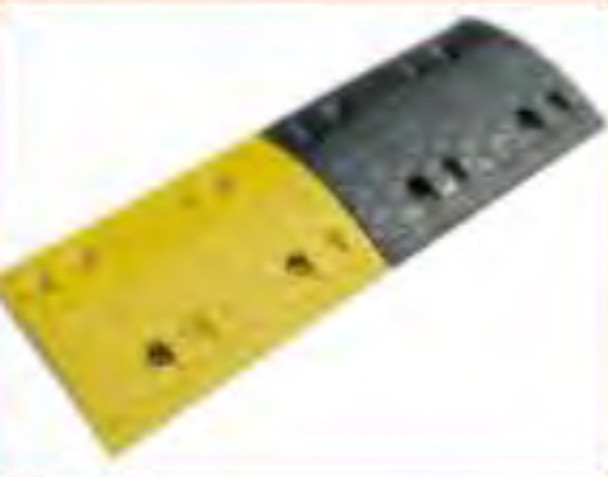 Rubber Speed Hump and Separate End Part