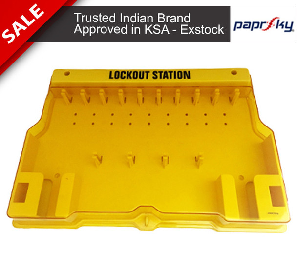 20 Lock Lockout Station -  PS-LOTO-OPLS20 - إضراب محطة