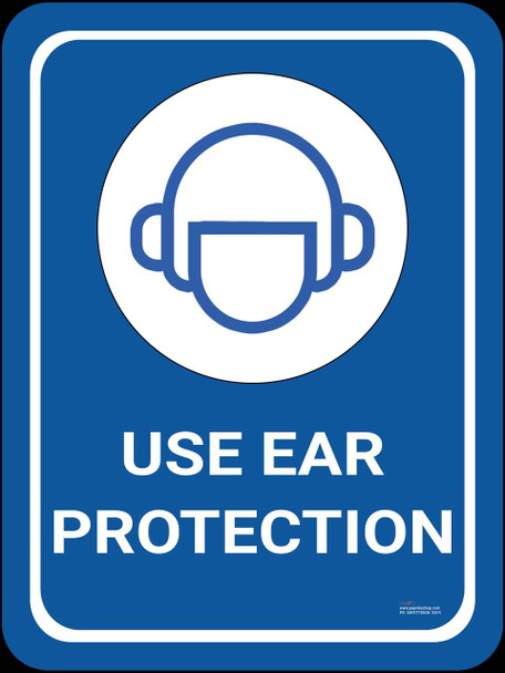 Safety sign - Use ear protection