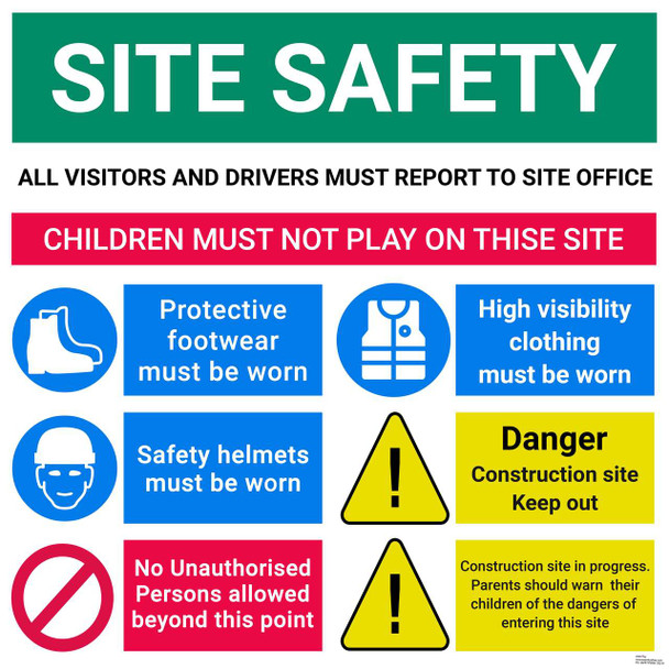 Safety sign - SITE SAFETY