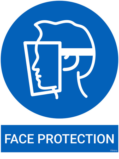 Safety sign - Face Protection