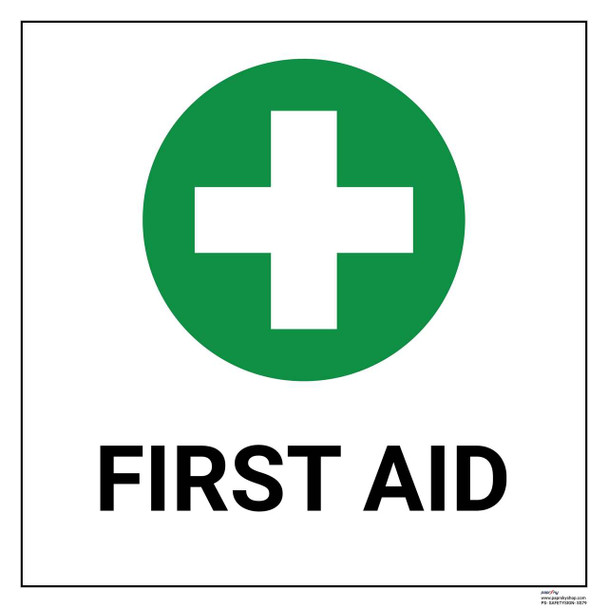Safety sign - First  aid