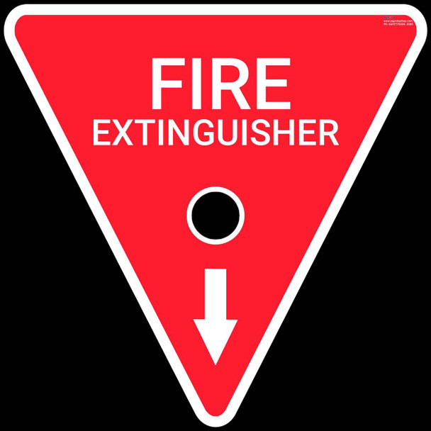 Safety sign - Fire Extinguisher 2