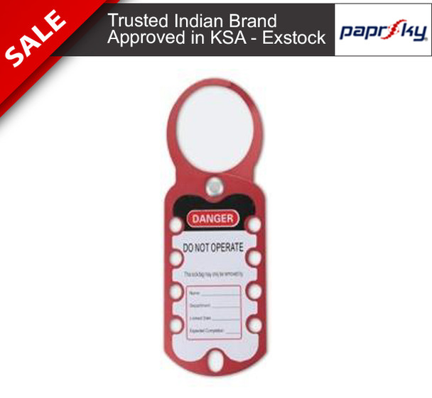 Lockout HASP PS-LOTO-HASP-2IN1 TAG تأمين القفل