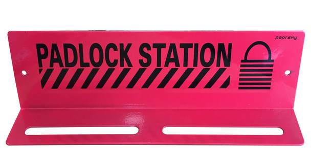 Padlock Station PS - LOTO - PS6