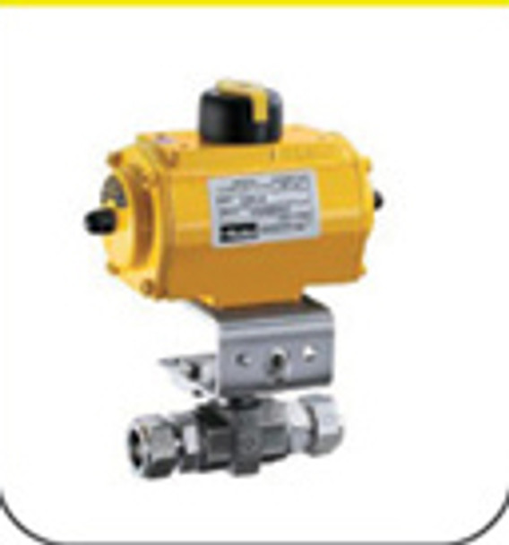 Pneumatic Actuated Valves  *Images displayed here are for descriptive purpose. Actual product varies as per the given size and specification.