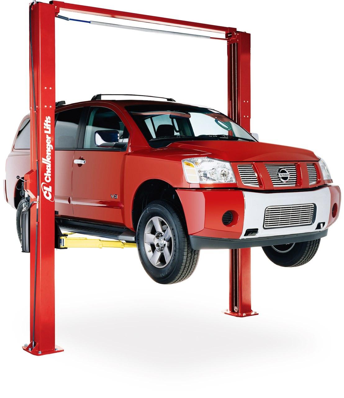 Challenger Lifts Le10 Symmetric Asymmetric Two Post Car Lift
