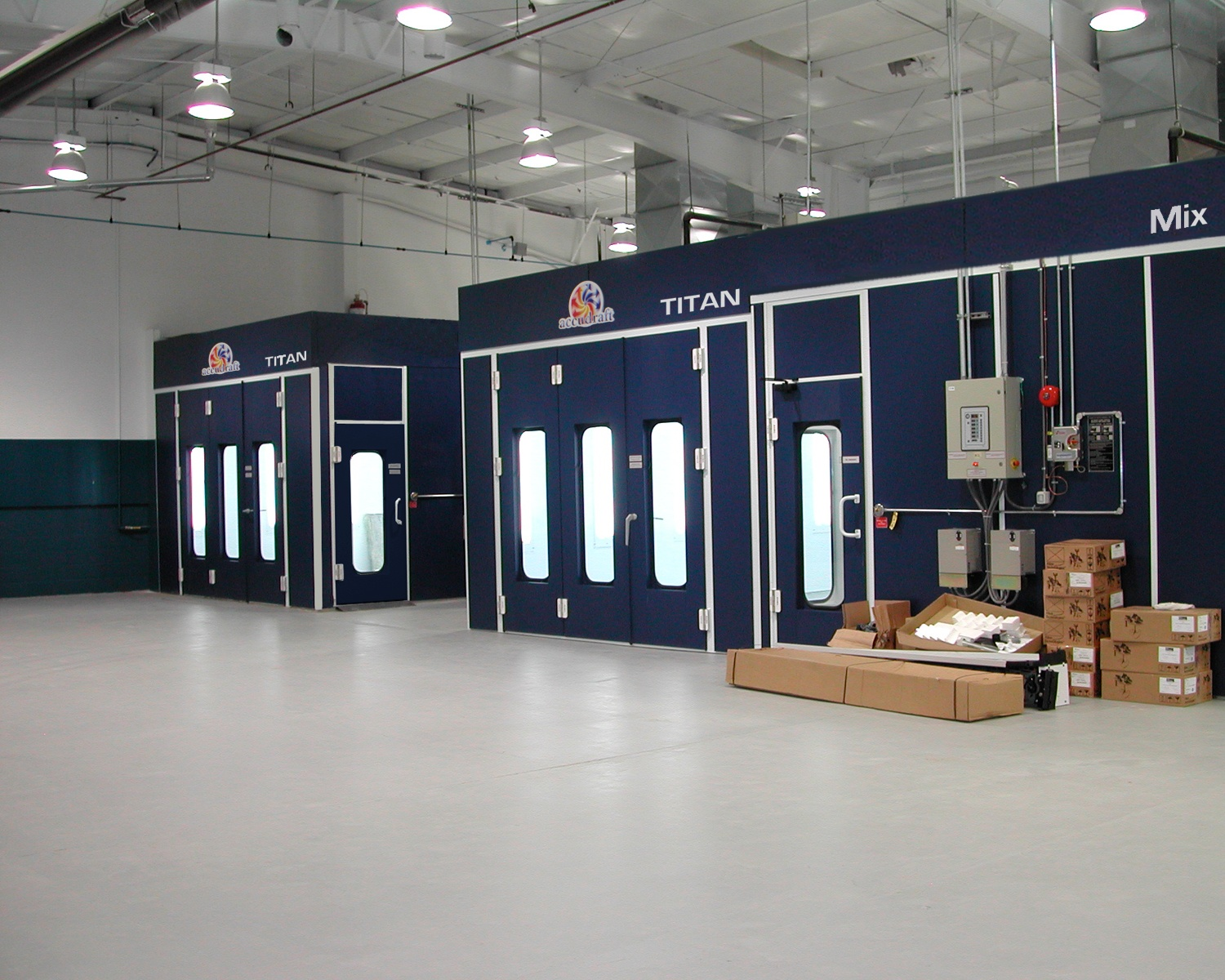 Accudraft Automotive Paint Booths