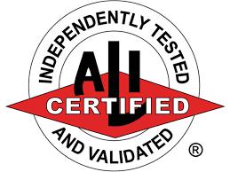 ALI Certified Lift