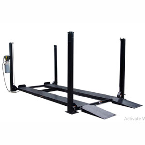 Tuxedo FP8K-DS 8,000 lb Deluxe Series Storage/ Service Four Post Lifts