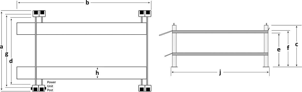 Bendpak HD-973P Floor Plan