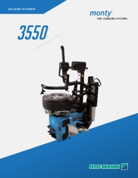 Hofmann Monty 3550 Tilt back Tire Changer Brochure