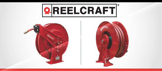 Reliable Hose, Cable, and Cord Reels from Reelcraft