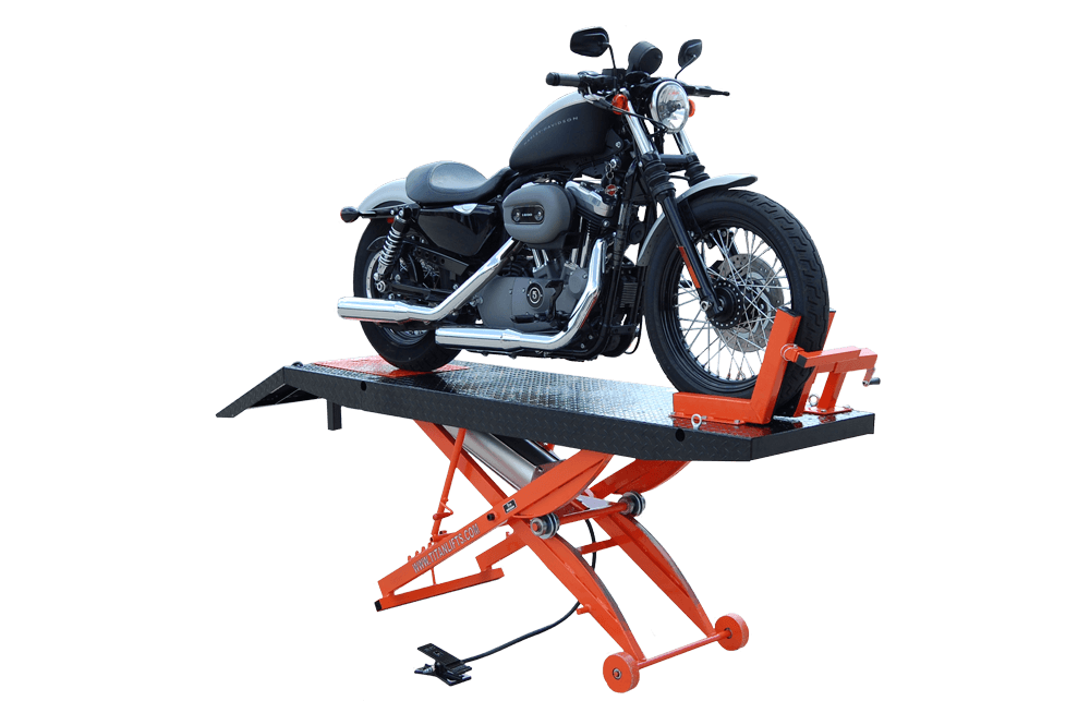 TITAN LIFTS SDML-1000D MOTORCYCLE LIFT