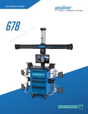 Hofmann Geoliner 678 Wheel Alignment System