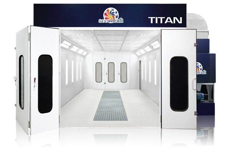 Accudraft Titan Paint Booth