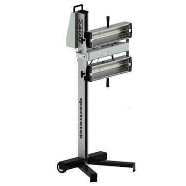 Amh Spectratek 2400w 220v Twin Head W Roller Stand