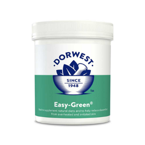 This supplement offers all the benefits of the nutrition found in three 'super-green' plants, in an easy to give powder. Just add it to the normal food, to boost the levels of iron, vitamin C, chlorophyll, calcium and magnesium plus bio-active antioxidants.