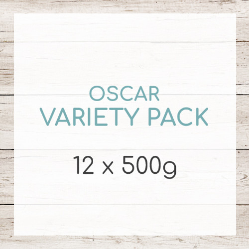 Variety Pack - A tasty selection of 12 meals to compliment any raw dog food diet - raw feeding is your way of feeding your dog their natural diet, the barf diet.